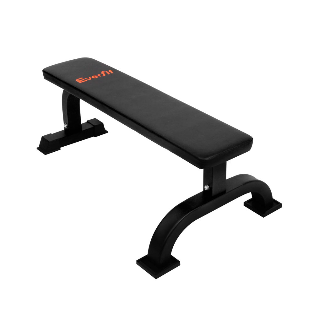 Fitness Flat Weight Bench Black The Fitness Crew